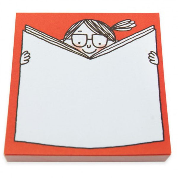 Post-it Girl with a book, Ohh Deer