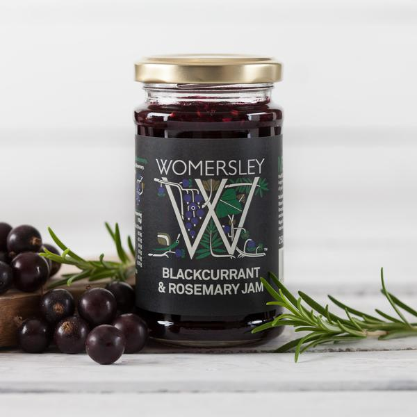 Confiture Blackcurrant, Rosemary, Womersley
