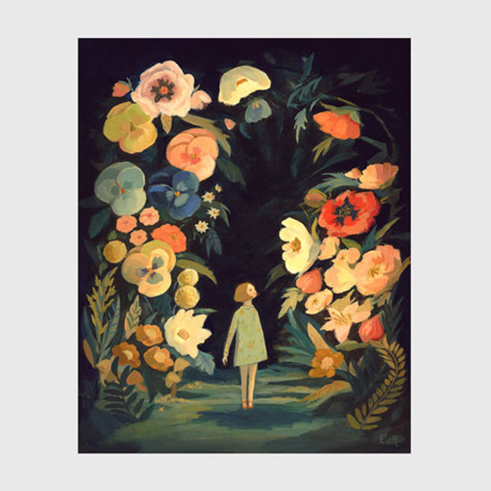 Affiche Night garden, Emily Winfield Martin