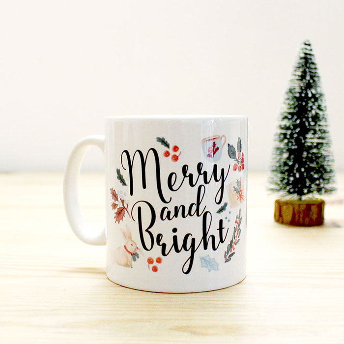 Tasse Merry and Bright