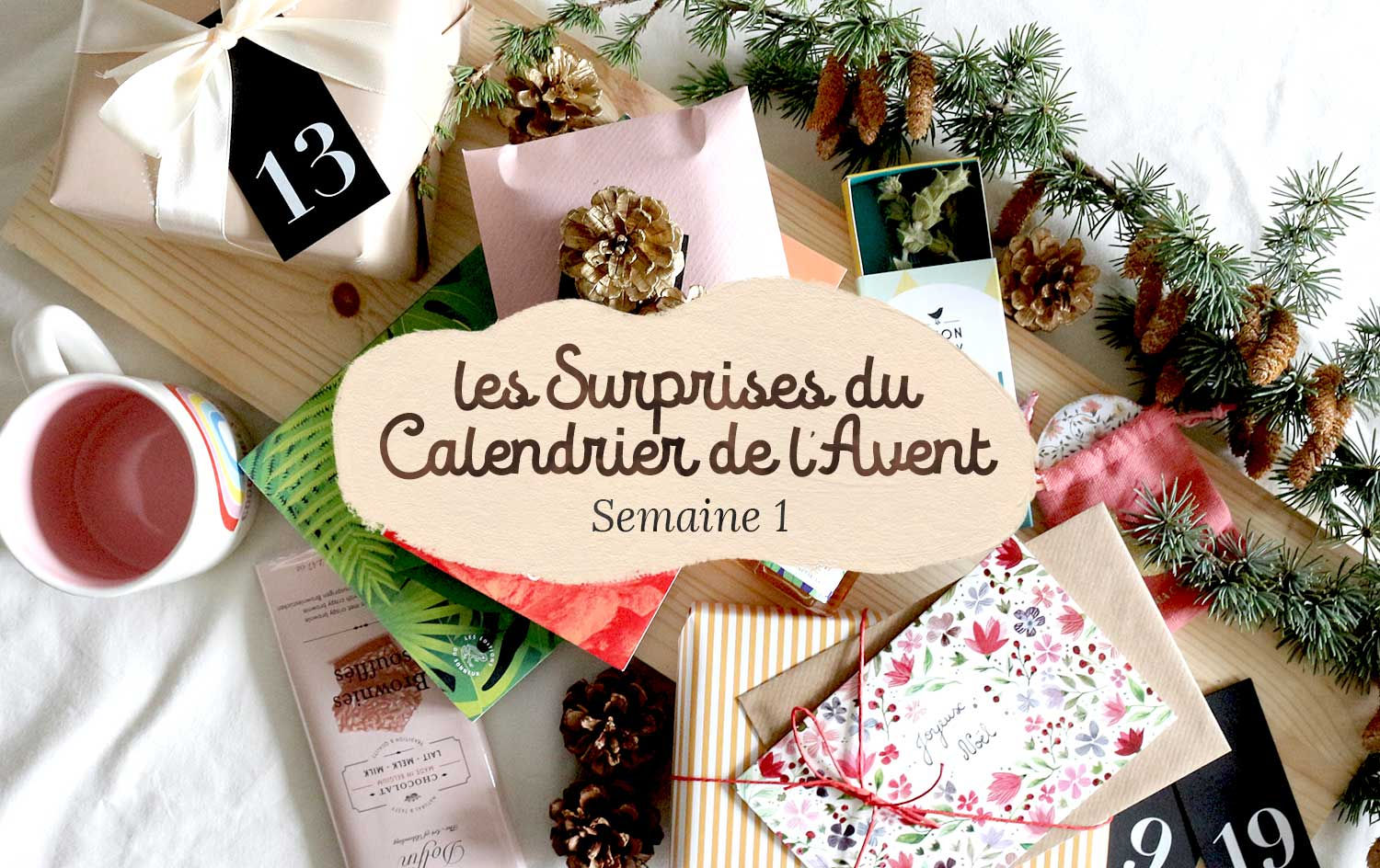 calendrier avent semaine 1 cover